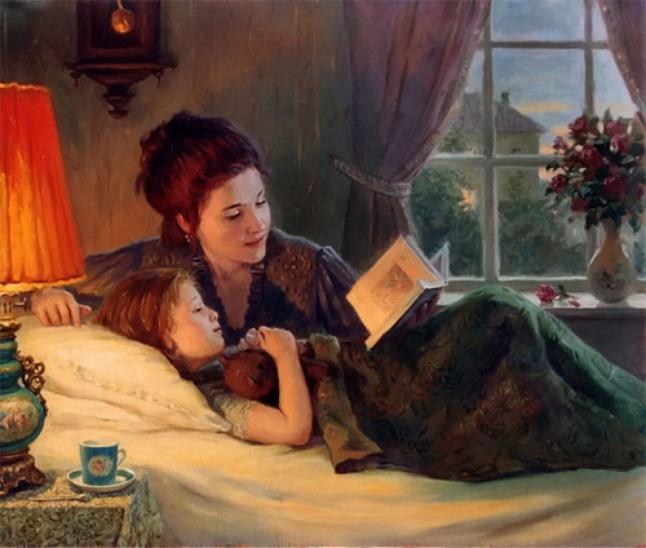 «Мама, почитай мне «Колобка»… В сотый раз…Зачем читать ребёнку одну и ту же сказку