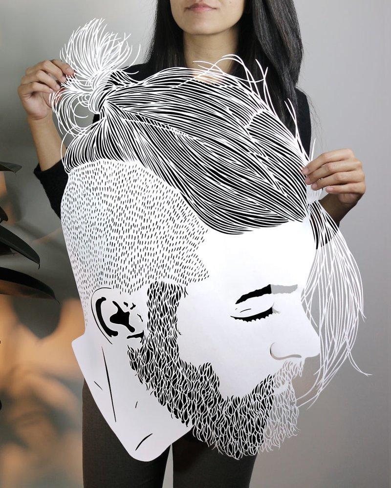 Изящные творения Парта Котекара, вырезанные из бумаги