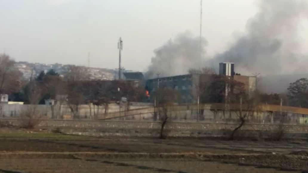 Нападение на министерский квартал в Кабуле