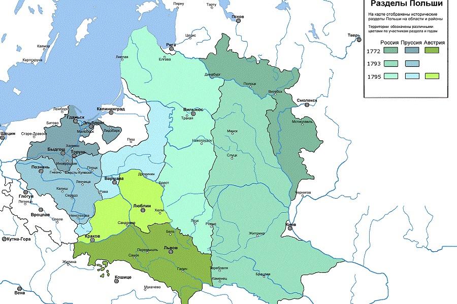 «Разделы Польши» – ликвидаци…