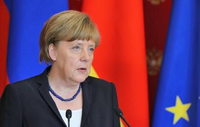 Путин поздравил Меркель с Днем германского единства