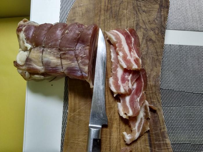 Вяленое мясо. Рецепт от моей жены Ляки. Домашний продукт, Мясо, Грудинка, Кулинария, Еда, Кухня, Фотография, Длиннопост
