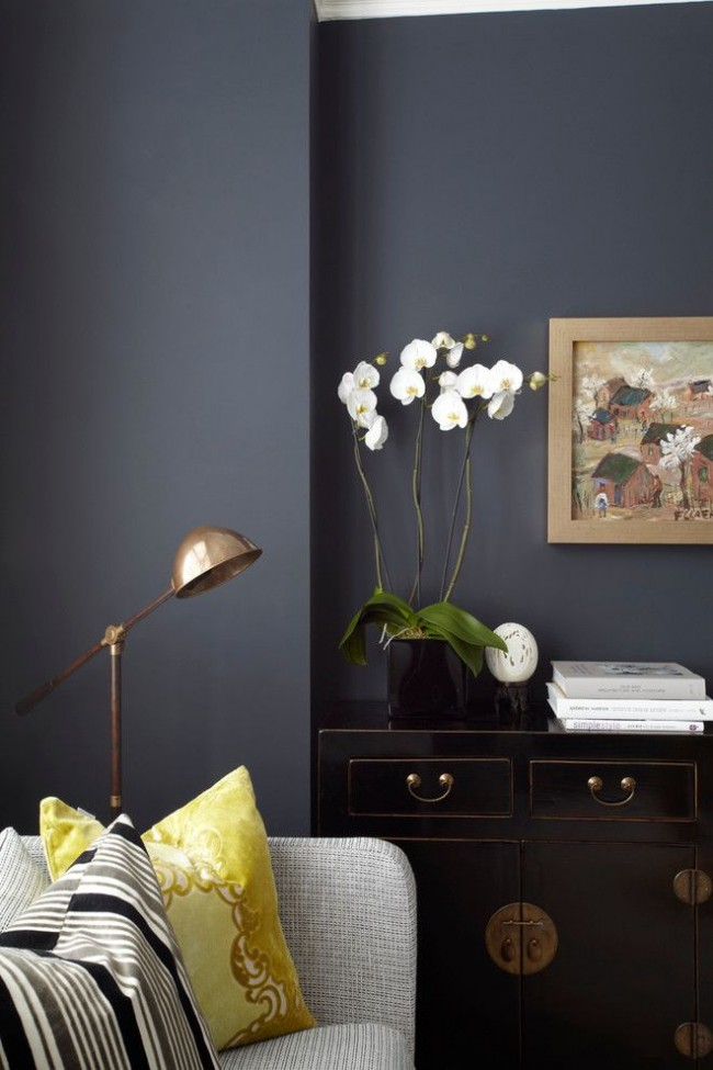 Использование серого цвета в интерьере - стало новой модной тенденцией