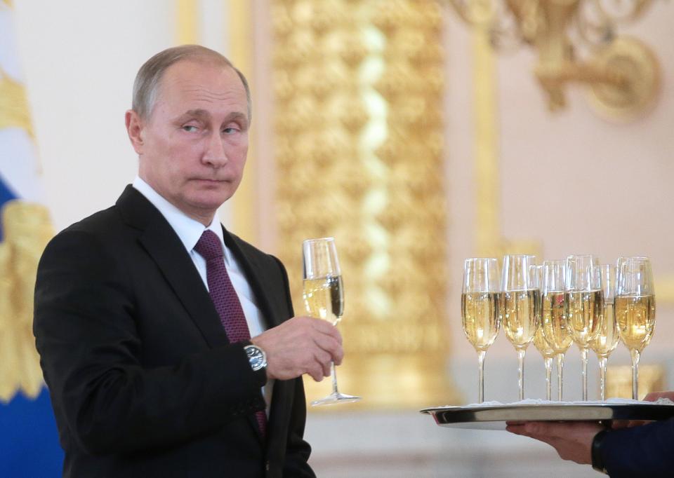 The Sun: Владимир Путин отка…