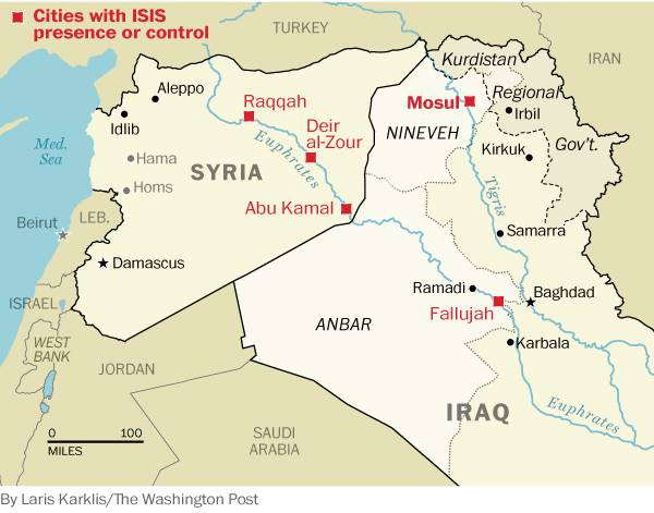 Несчастье Мосула. Продолжаются бои за древний город