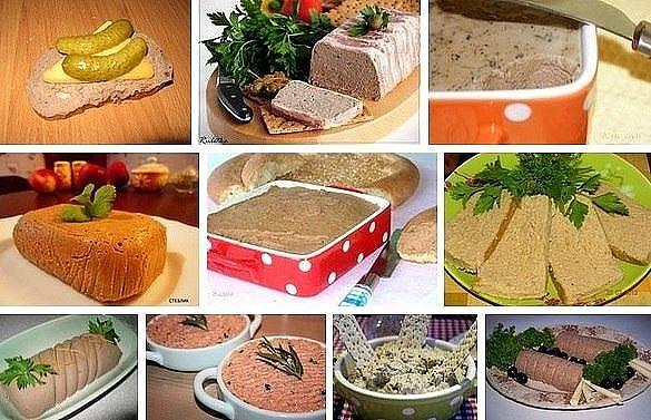 Домашние паштеты - 10 лучших рецептов