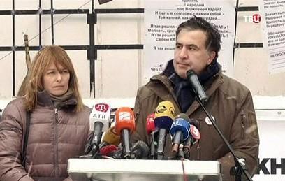 Саакашвили: есть все шансы встретить Новый год без Порошенко