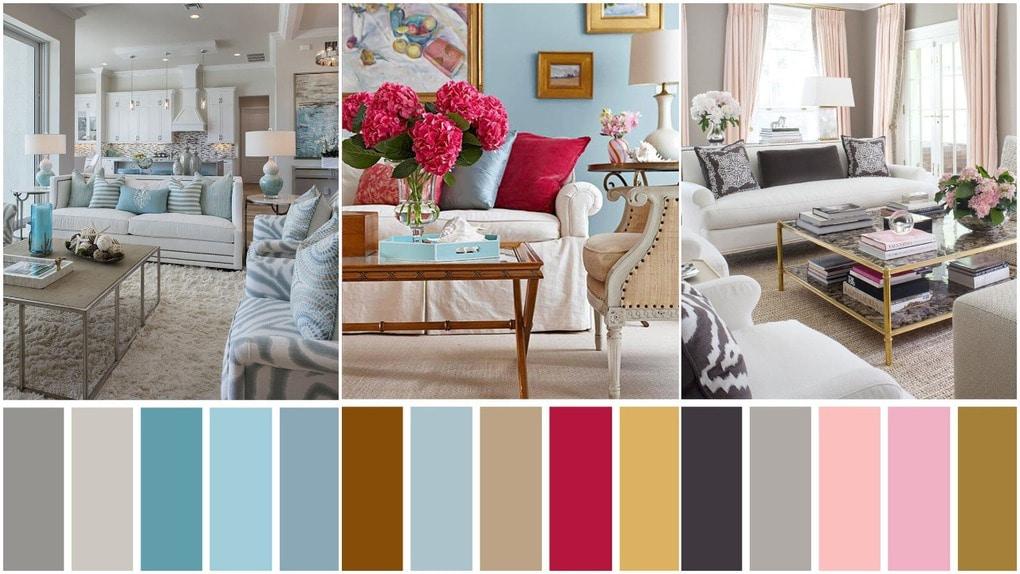 Идеальные цветовые сочетания для оформления гостной