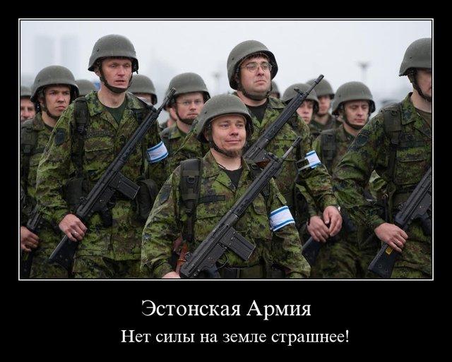 Эстонских солдат выгнали в палатки, чтобы отдать казармы военным НАТО