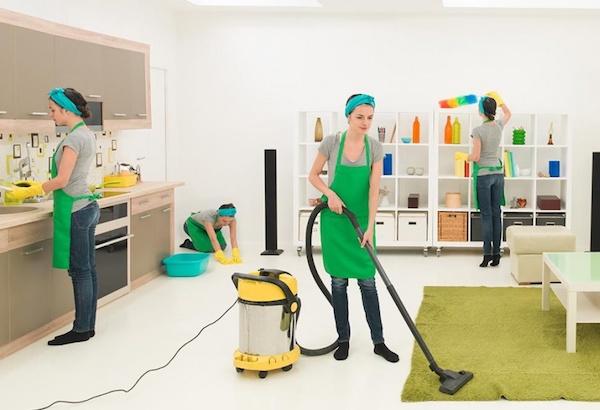 Уборка в квартире домашними средствами