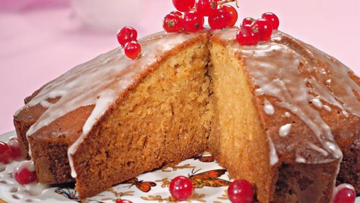 Простой рецепт кекса с имбирем
