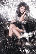 Селена Гомес(Selena Gomez) в фотосессии для альбома A Year Without Rain (2010)