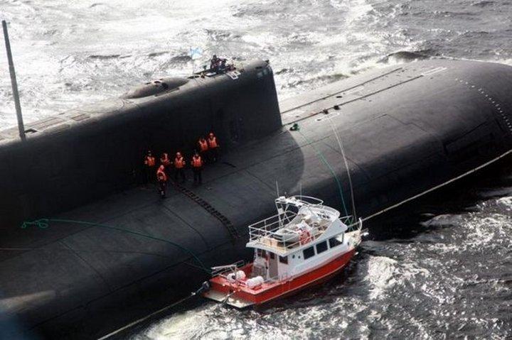 катер который спасла подводная лодка