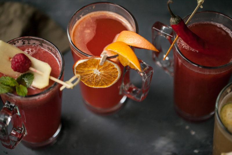 Изображение рецепта Малиново-имбирный чай