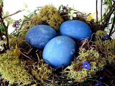 Интересные способы покрасить яйца на Пасху, мраморные яйца, красить яйца кружева