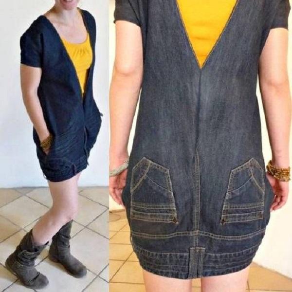 что сделать из джинсов своими руками фото
