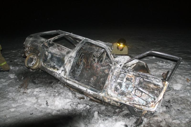 Фото лобового ДТП под Челябинском, в котором погибли четыре человека
