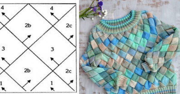 Берете  цветную пряжу, спицы и начинаете  вязать квадраты… Только одно условие — все одного размера!