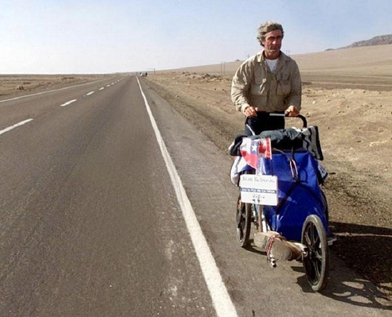 Люди, совершившие удивительные пешие путешествия