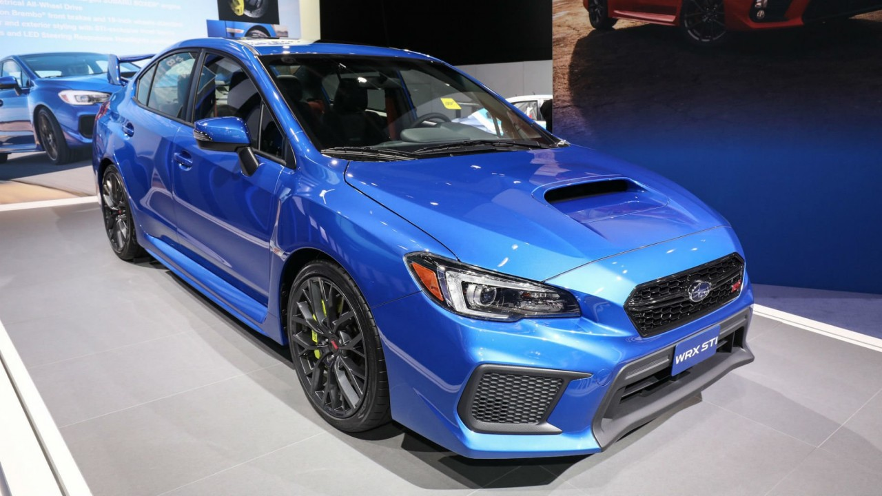 Компания Subaru показала модернизированные WRX и WRX STI