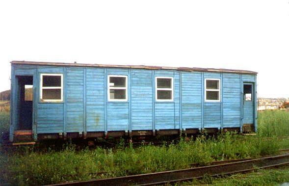 Голубой вагон летит... качается