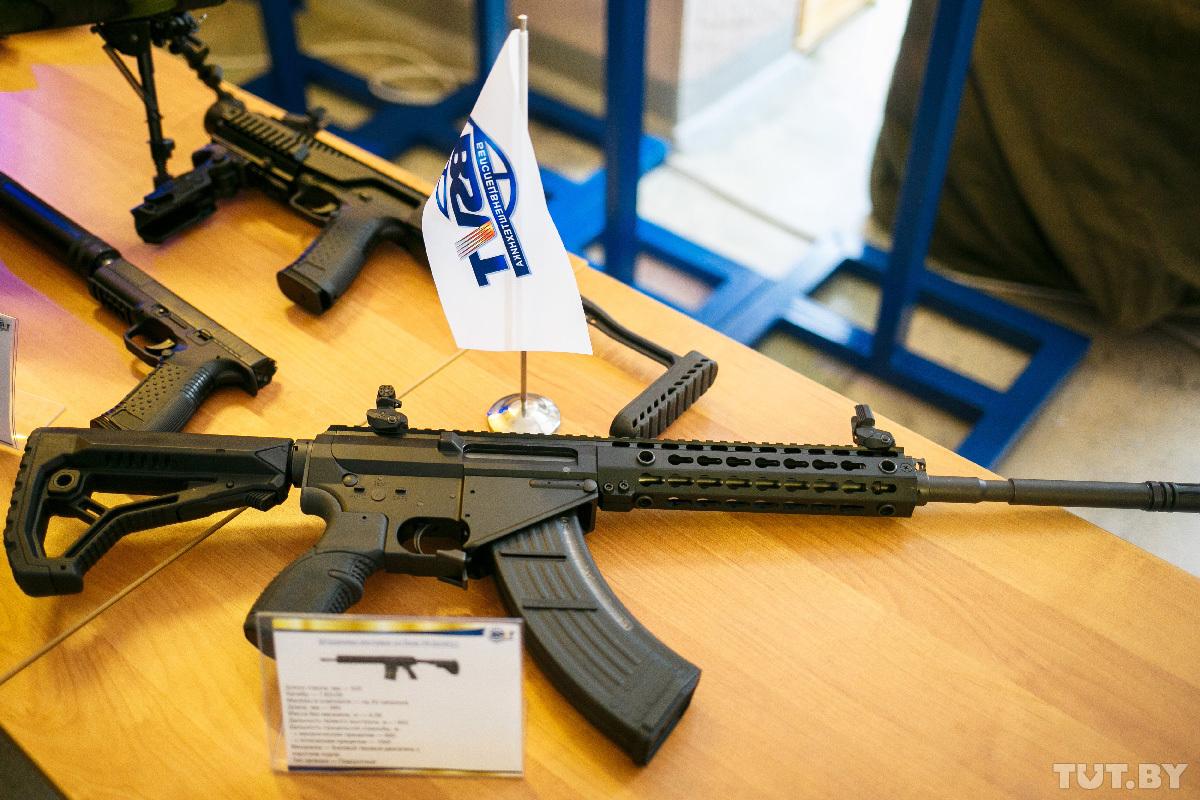 Новые образцы вооружения белорусской разработки