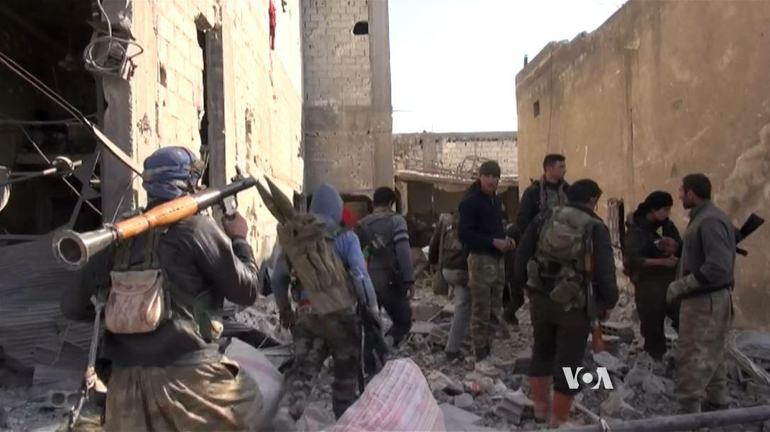 Боевики ИГ опубликовали видео боёв с курдскими ополченцами в Ракке