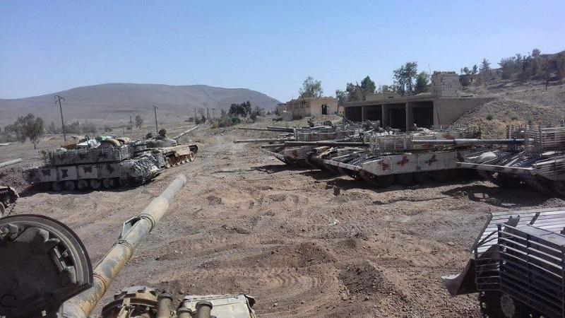 ВКС РФ и армия Асада отбили у ИГИЛ самый непреступный форпост в Сирии