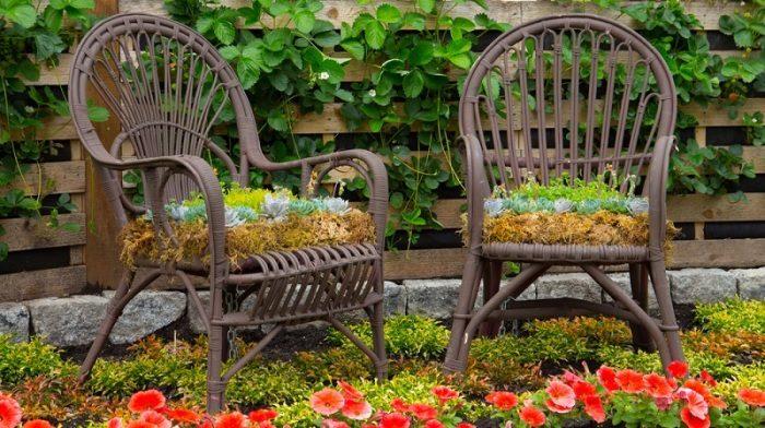 20 идей для декора сада, которые легко и быстро сделать собственноручно