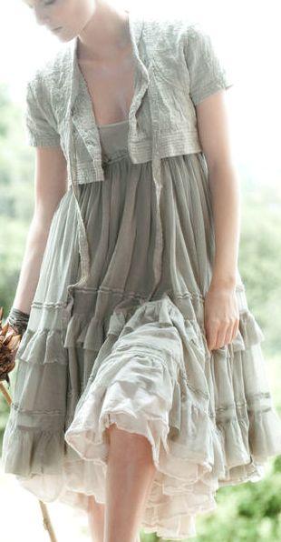 """Стильная подборка — бохо-наряды в стиле """"принцесса в изгнании"""" от французского бренда"""