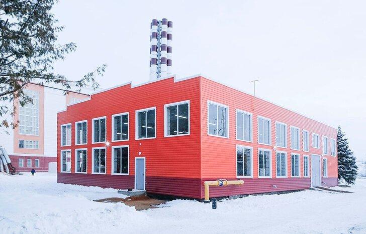 Котельную мощностью 40 МВт запустили в Тульской области Хорошие, добрые, новости, россия, фоторепортаж