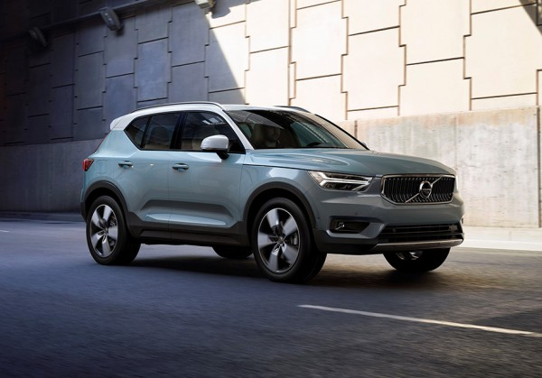 Представлен новый кроссовер Volvo