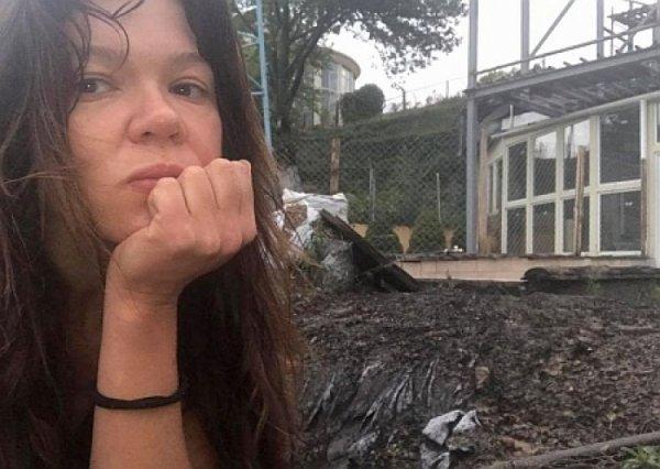 Огненный бумеранг: дом «спалахуйки» Русланы Лыжечко сожгла молния