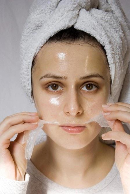 Facial homemade mask minimize pore