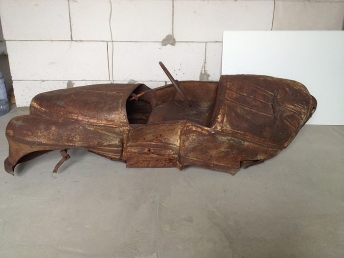 Педальная машинка УРАЛ — восстановление из пепла