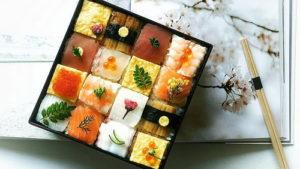 Суши-мозаика: последний трен…