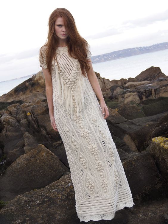 Aran Dress by Natallia Kulikouskaya: