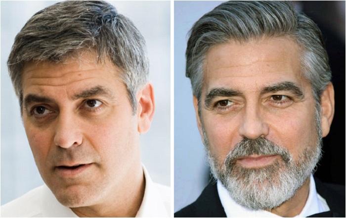 30 фотографий привлекательных известных актёров с бородой и без