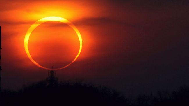 Солнечное затмение 26 февраля 2017 года