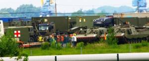 В Латвию прибыли испанские танки