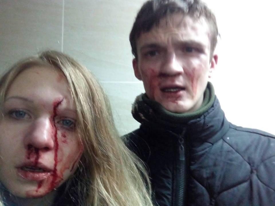 В Киеве нацисты избили нацистов
