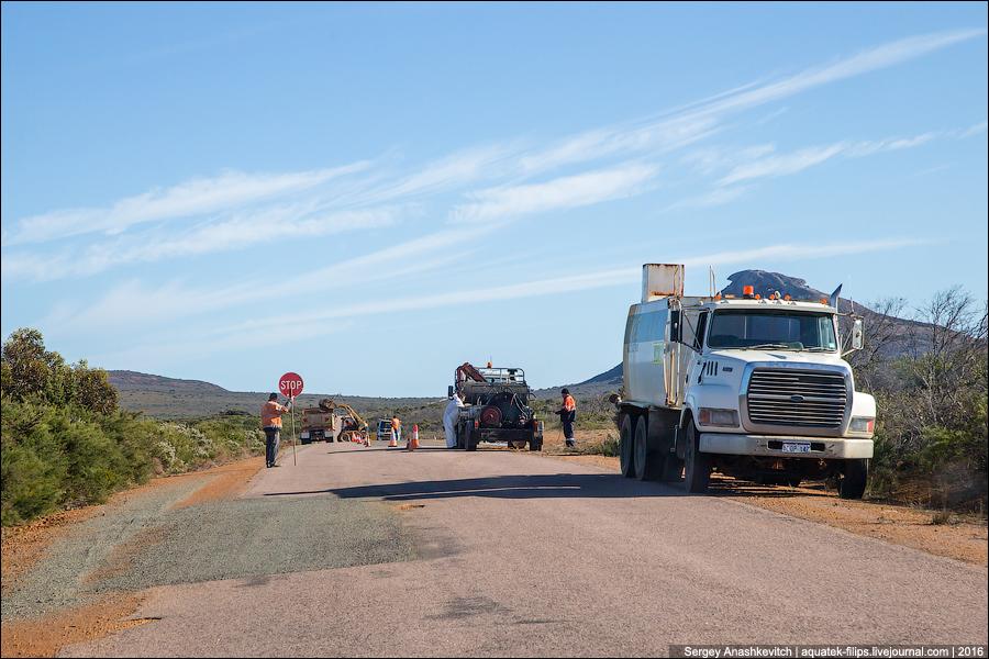Как ремонтируют дороги в Австралии