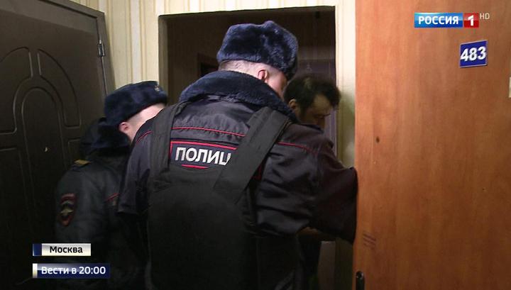 Дом на севере Москвы атаковали мигранты