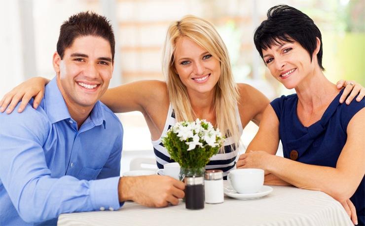 Умение находить общий язык с близкими мужчины