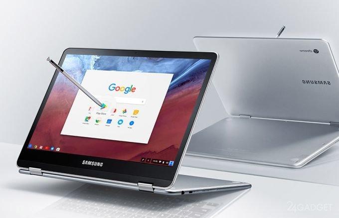 Samsung Chromebook Pro — хромбук-трансформер с поддержкой Google Play