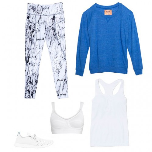 3 модных образа для занятий спортом летом
