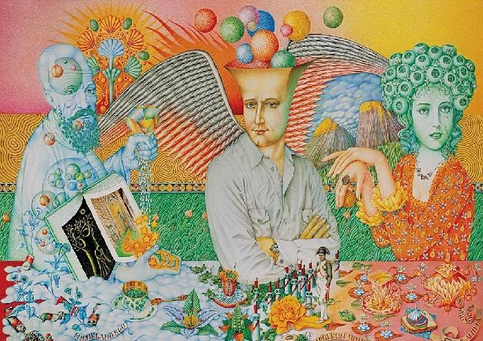 Пантеон Игоря Тюльпанова — живописные образы знаменитых людей карандашами