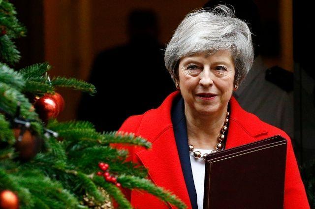 СМИ: Мэй отменила голосование в парламенте по соглашению об условиях Brexit