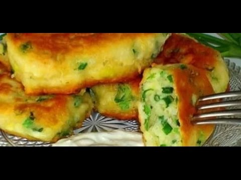 Моментальные пирожки с зеленым луком и яйцом