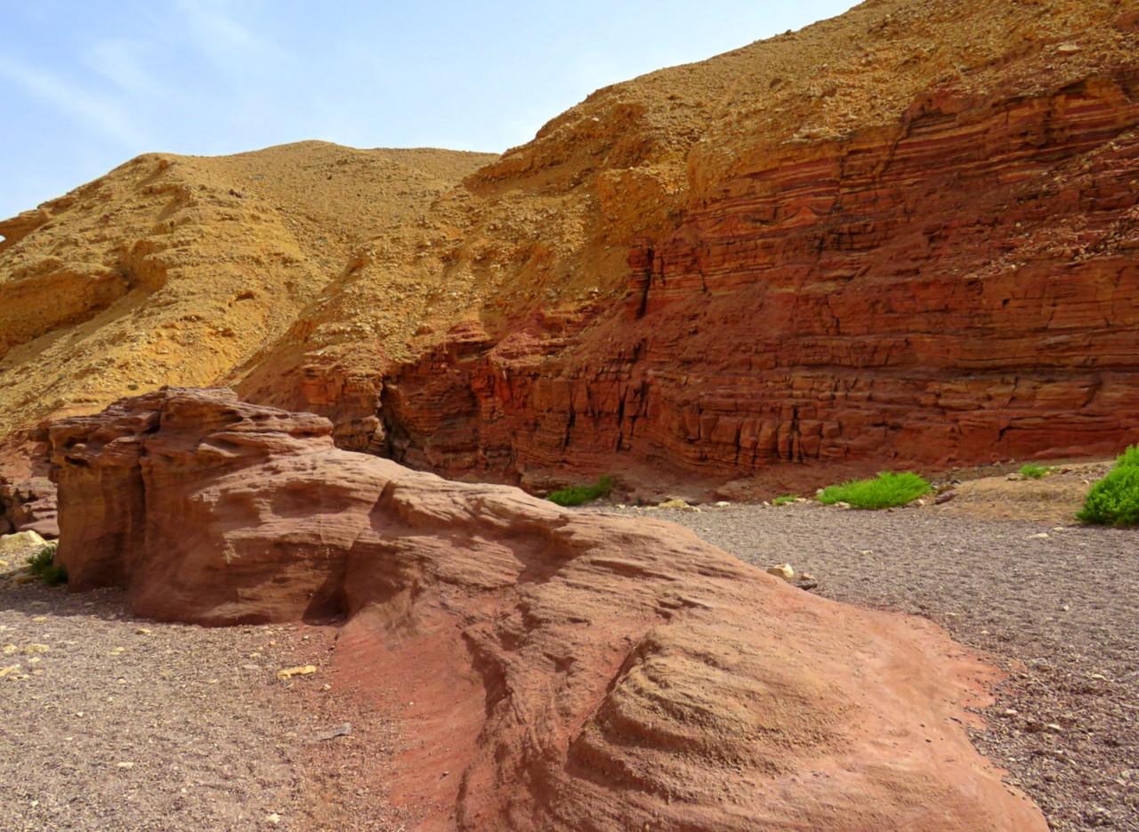 Путешествие в Красный каньон Эйлата
